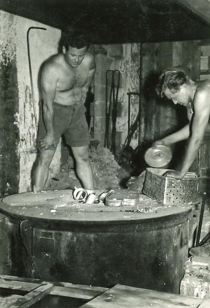 Arbeiter um 1960