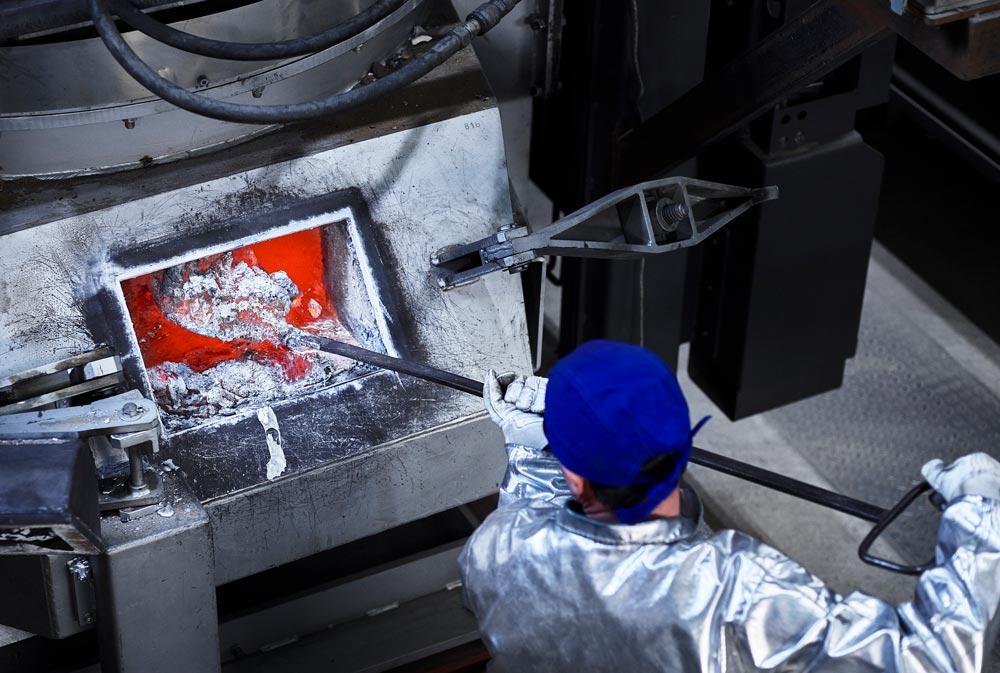 VMG Metall Aluminium Schlacke